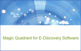 magic quadrant ediscovery software