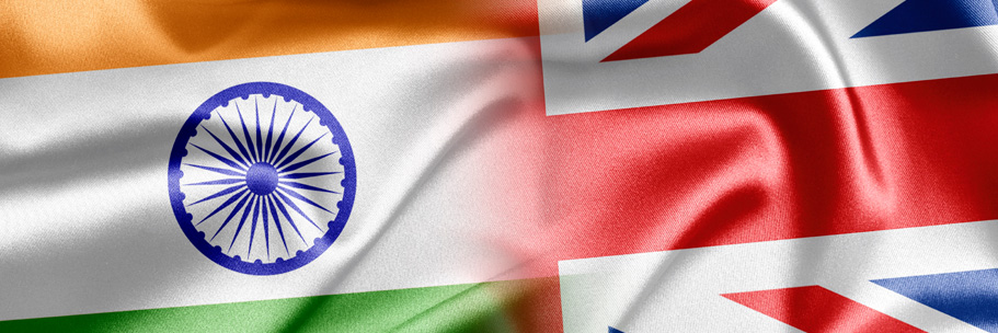 India UK Flags