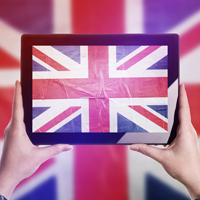 Union Jack Tablet