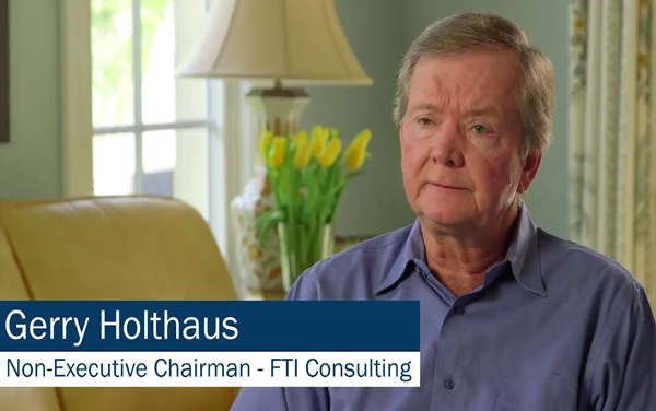 Video: Gerry Holthaus WEF Chairman's Retreat 2016